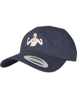 Casquette Incurvée Turn Up Mac Dad Bleu Marine