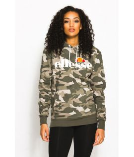 Sweat Capuche Femme Ellesse Torices Hoody Camouflage Collection Ellesse Héritage