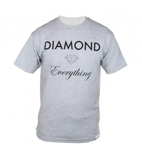 Sweat DIAMOND SUPPLY CO. Diamond Everything Gris