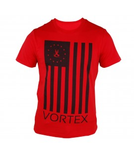 T-shirt VORTEX Flag Rouge by Maître Gims
