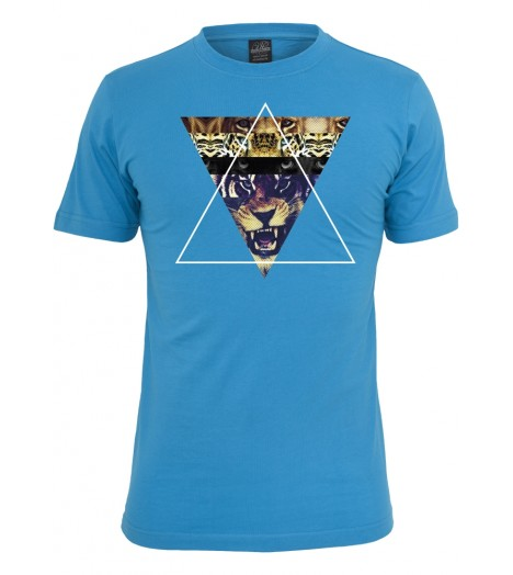 T-shirt MISTER TEE Turquoise Tiger