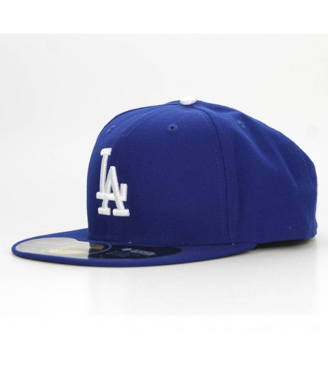 NEW ERA 59Fifty LA Dodgers Bleu Casquette On-Field Official BaseballNEW ERA Fitted Los Angeles Dodgers Bleu