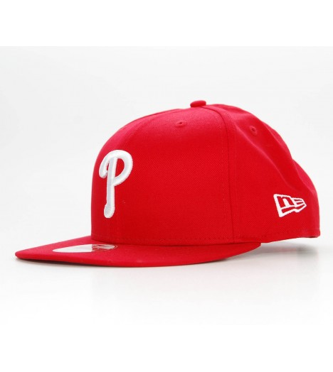 NEW ERA Snapback Philadelphia PHILLIES Logo Rouge Casquette 9Fifty
