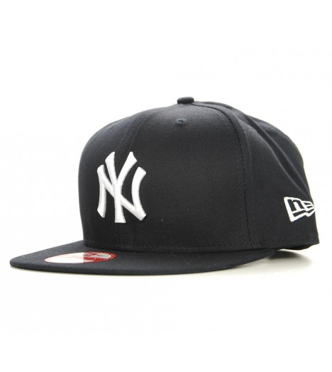 NEW ERA Snapback New York YANKEES Logo Bleu marin Casquette 9Fifty