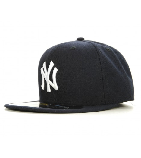 NEW ERA 59Fifty NY YANKEES Bleu marine Casquette On-Field Official Baseball