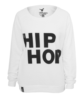 Sweat Crewneck léger URBAN DANCE Blanc-Noir Hip Hop Danse