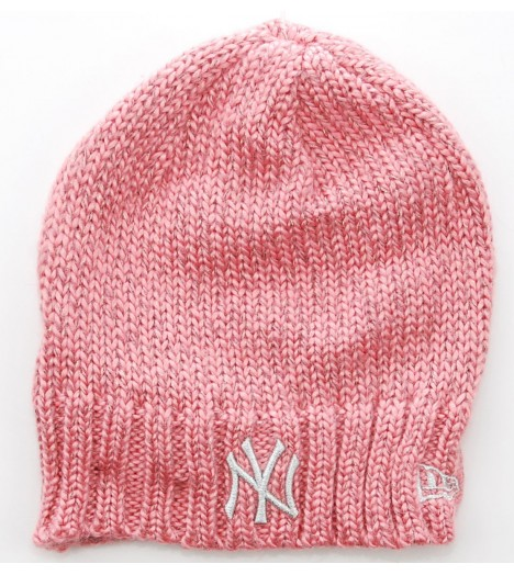 NEW ERA Bonnet NEW YORK YANKEES Rose - Argent Flecktacular