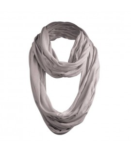 Echarpe Wrinkle Loop URBAN CLASSICS Gris clair MD
