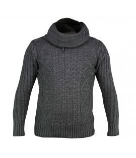 Pull CARISMA Gris Fashion Pull Hiver Cardigan
