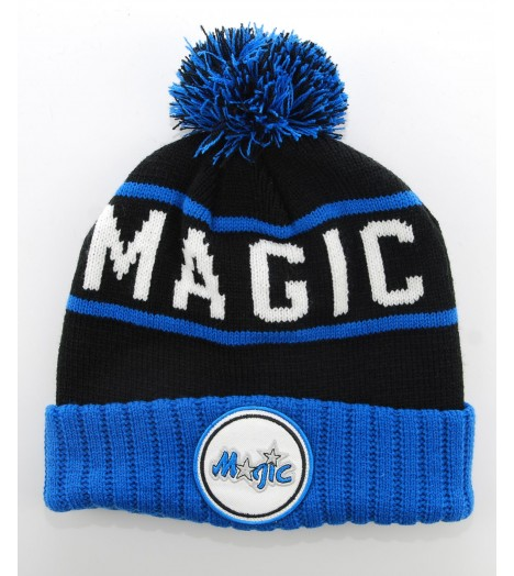 MITCHELL & NESS Bonnet Pompon ORLANDO MAGIC Bleu roi - Noir H5Cuff NBA