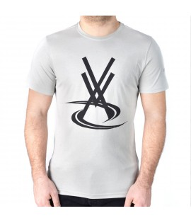 T-shirt VORTEX Basic VX Gris by Maître Gims
