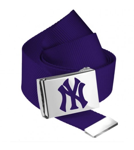 Ceinture NEW YORK Yankees MLB Violet NY MASTERDIS Belt