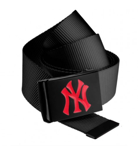 Ceinture NEW YORK Yankees MLB Noir NY Rouge MASTERDIS Belt