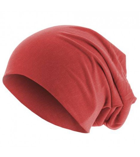 Bonnet Jersey Rouge clair MASTERDIS Beanie Stretch
