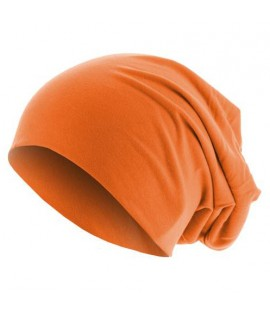 Bonnet Jersey Orange Fluo MASTERDIS Beanie Stretch