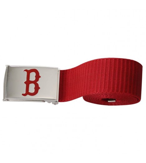 Ceinture BOSTON Red Sox MLB Rouge MASTERDIS Belt