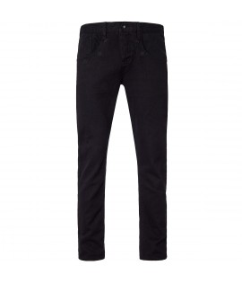 "Jeans Straight Fit ROCAWEAR Noir denim ""in the stars"" Taille US"