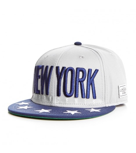 Casquette Cayler & Sons Snapback New York Gris