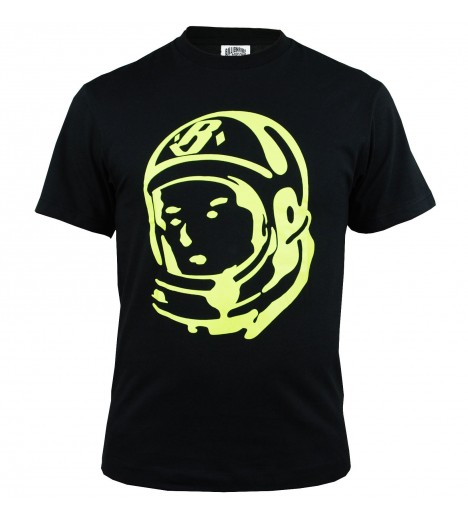 T-shirt Billionaire Boys Club Classic Helmet Noir Logo BBC by Pharrell