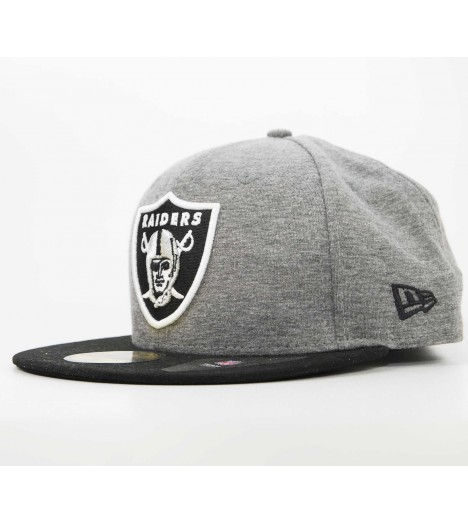 NEW ERA 59Fifty Oakland RAIDERS Noir Casquette On-Field Official NFL