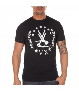 T-shirt Vortex Vx Empire Noir Logo by Maître Gims