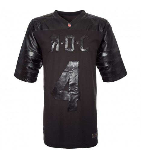 Maillot Football US Rocawear Black Panta Noir Jersey by Jay Z