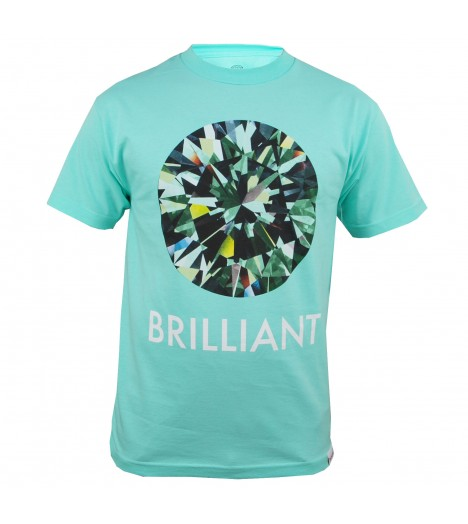 T-shirt DIAMOND SUPPLY Brillant Diamond Bleu