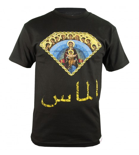 T-shirt DIAMOND SUPPLY Arabic Mary Noir