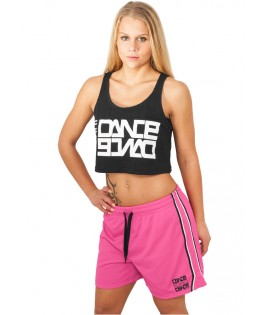 Short Mesh Urban Dance NY Academy Neon Rose