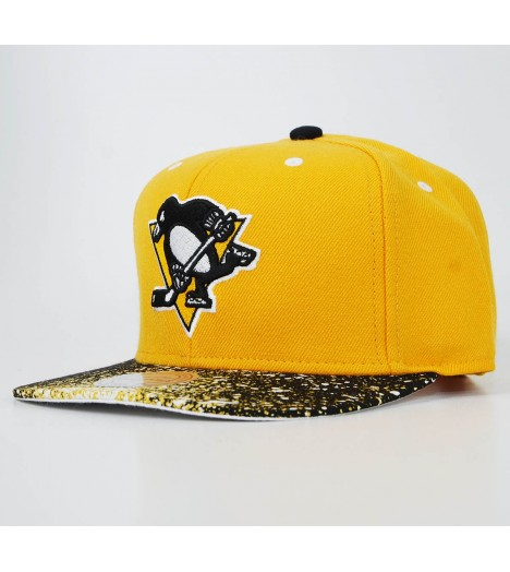 MITCHELL & NESS Snapback Pittsburgh PENGUINS Splatter