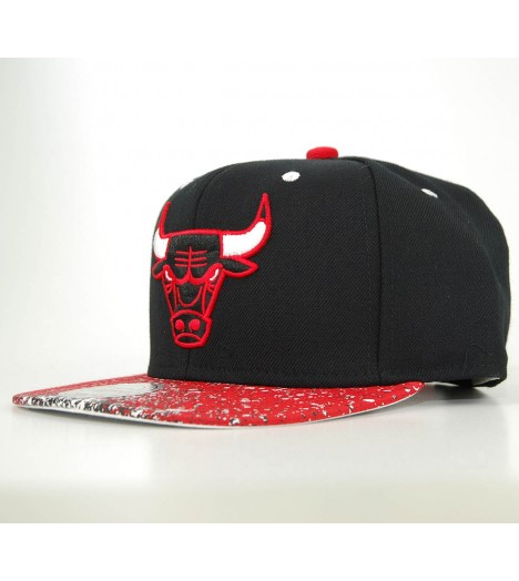MITCHELL & NESS Snapback Chicago BULLS Splatter