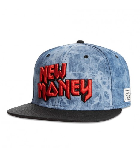 Casquette Cayler & Sons Snapback New Money Denim - Noir Suede