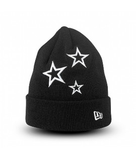 Bonnet NEW ERA Stars Noir Blanc