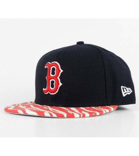 Casquette New Era Boston Red Sox Strapback Animal Visor