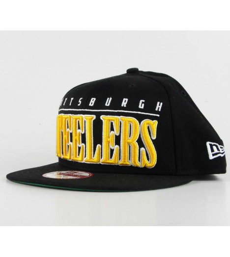 Casquette New Era Pittsburgh Steelers Noir Snapback