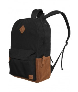 Sac à dos Urban Classics Noir Backpack simili cuir