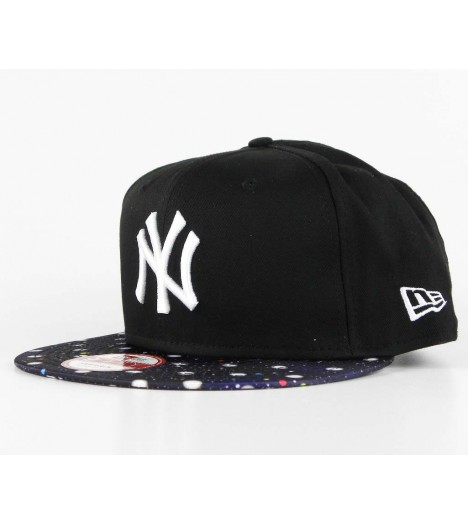 Casquette New Era New York Yankees PS Visor Noir Snapback