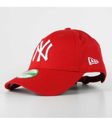 NEW ERA Enfant Strapback NY YANKEES Rouge Casquette Kids 9Forty