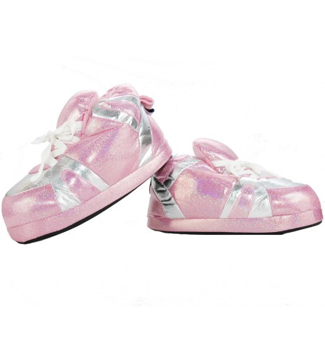 Chaussons Happy Feet Glossy Rose