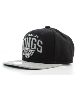 Casquette Snapback Los Angeles Kings Noir x Mitchell & Ness