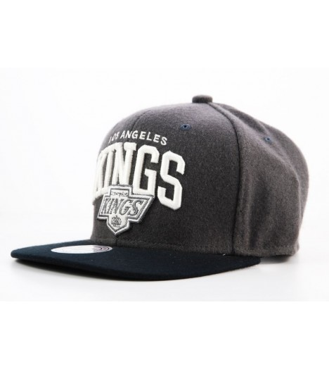 Casquette Mitchell & Ness Snapback Los Angeles Kings Gris MJARC
