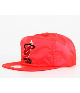 Casquette Snapback Miami Heat Orange x Mitchell & Ness