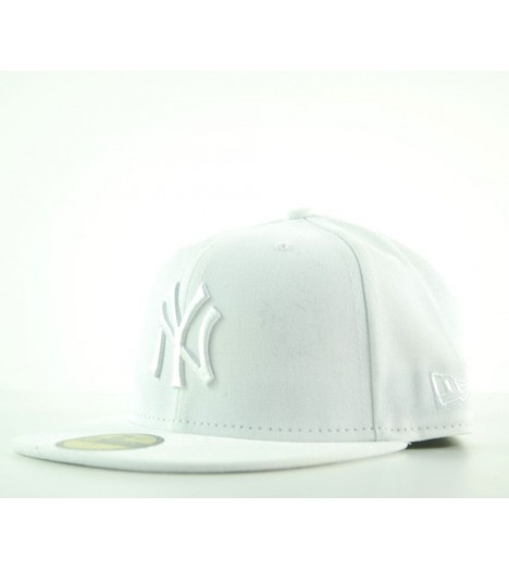 NEW ERA 59Fifty NY YANKEES Rouge MLB Casquette en laine