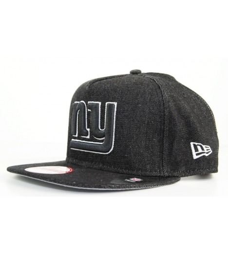 Casquette New Era New York Giants BlackDenim Snapback 9FIFTY