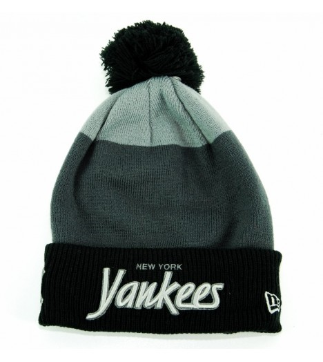 Bonnet Pompon New Era NY Yankees Gris Fash Jake