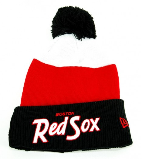 Bonnet Pompon New Era NY Yankees Rouge - Noir Fash Jake