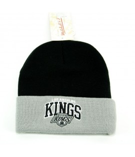MITCHELL & NESS Bonnet Los Angeles KINGS Noir Script
