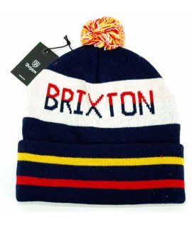 Bonnet Brixton Fairmont Bleu Rouge Jaune Made in USA