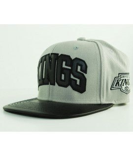 Casquette Mitchell & Ness Los Angeles Kings Woolf Gris