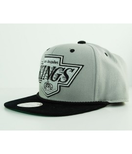Casquette Mitchell & Ness LA Kings Viscord Gris